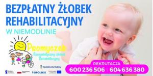 Bezpłatny żłobek rehabilitacyjny w Niemodlinie
